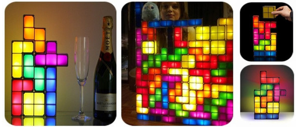 Tetris Stackable LED Desk Lamp - Duclos Toys Action Figures Collectibles Geek Toys » Tetris