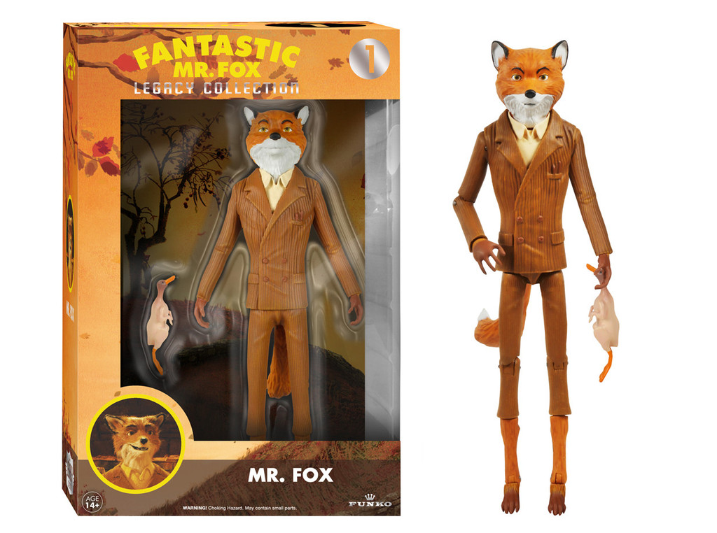 Fantastic Mr Fox Legacy Collection Action Figure By Funko