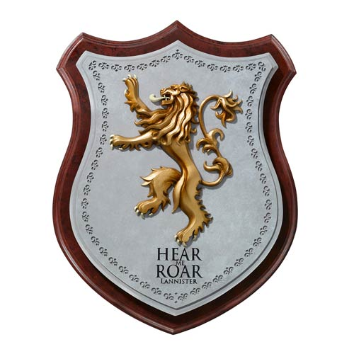 Game Of Thrones Crest Wall Plaque - Duclos Toys