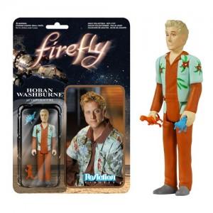 ReAction Figures - Firefly Action Figure - Hoban Washburne