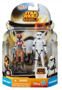 Star Wars Mission Series MS08 Sabine Wren & Stormtrooper