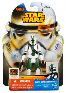 Star Wars Saga Legends SL15 Clone Commander Gree