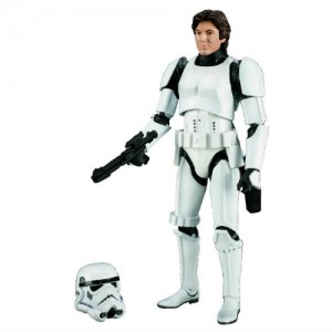 Star Wars The Black Series 6-Inch Action Figure - Han Solo in Stormtrooper