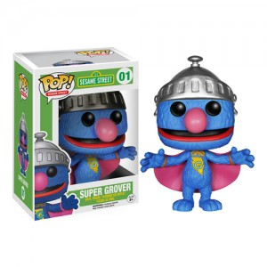 Funko Pop ! Sesame Street 01 - Super Grover