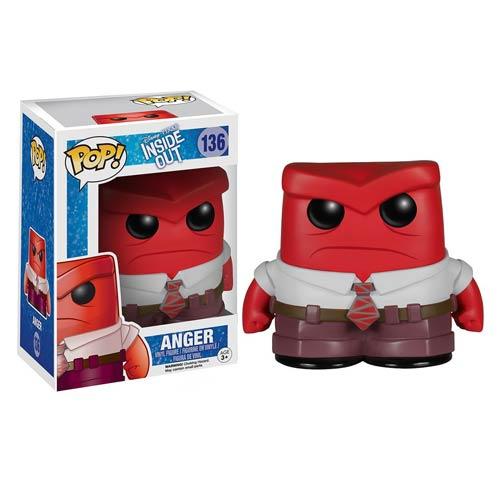 Funko Pop ! - Disney Pixar Inside Out 136 - Anger