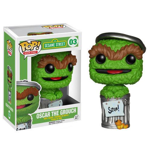 Pop ! Sesame Street 03 - Oscar the Grouch