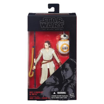 Star Wars - The Black Series 6-Inch Action Figure - The Force Awakens 02 - Rey Jakku and BB-8