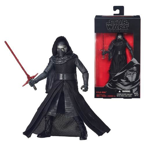 Star Wars - The Black Series 6-Inch Action Figure - The Force Awakens 03 - Kylo Ren
