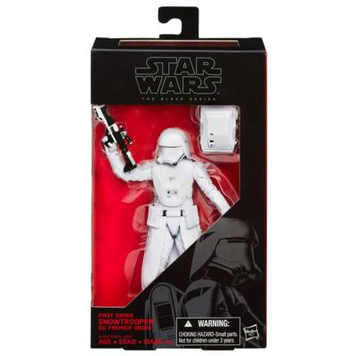 Star Wars - The Black Series 6-Inch Action Figure - The Force Awakens 12 - First Order Snowtrooper