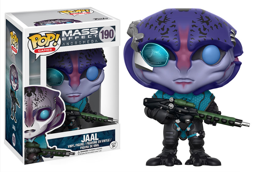 NUOVO /& OVP N Games-Mass Effect Andromeda: Sara Ryder Funko Pop 185 -