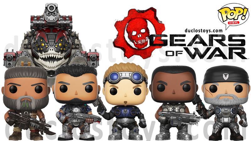 Funko Pop Games Gears Of War Duclos Toys Action