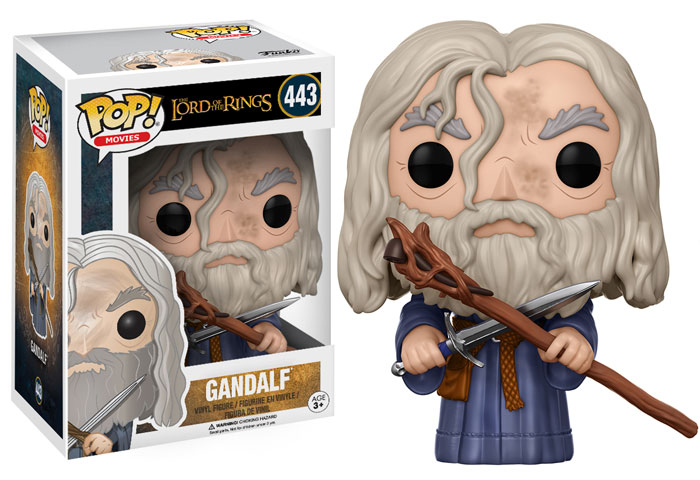 Funko Pop ! Movies 443 - Lord Of The Rings - Gandalf
