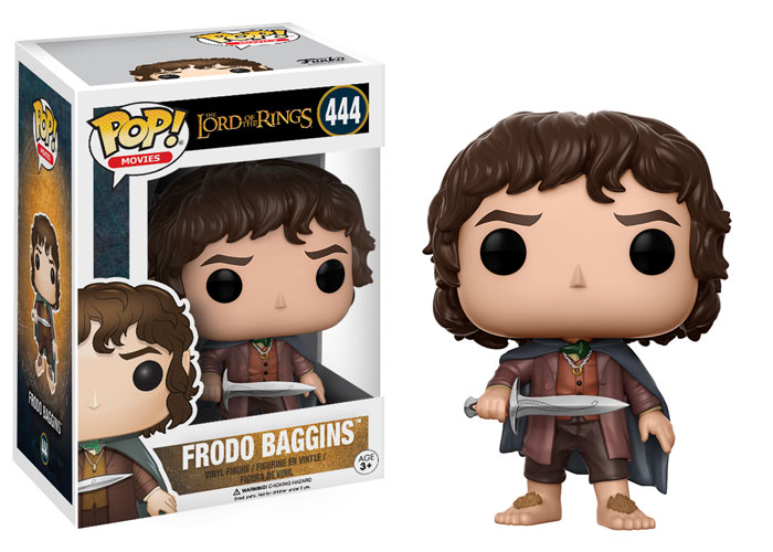 Funko Pop ! Movies 444 - Lord Of The Rings - Frodo Baggins