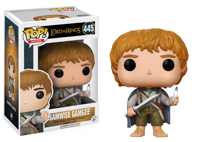 Funko Pop ! Movies 445 - Lord Of The Rings - Samwise Gamgee