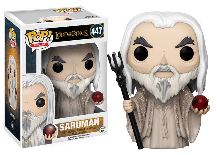 Funko Pop ! Movies 447 - Lord Of The Rings - Saruman