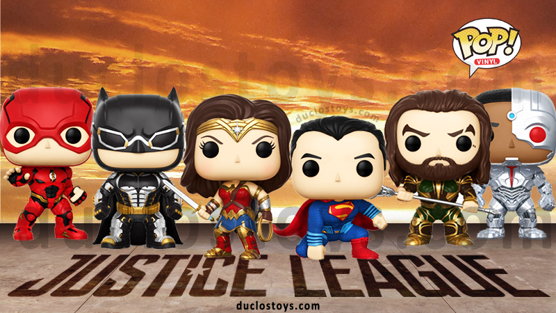 Duclos Toys - Funko Pop Movies - Justice League