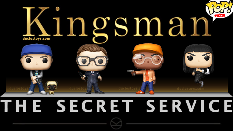 Duclos Toys - Funko Pop Movies - Kingsman