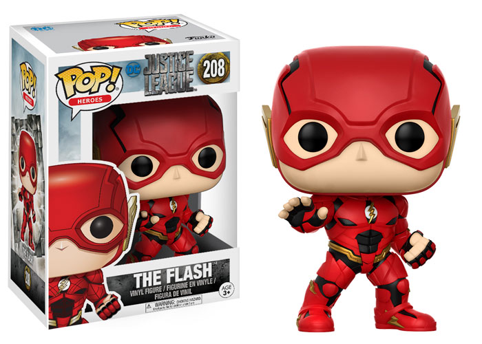 Funko Pop ! Heroes 208 - Justice League - The Flash