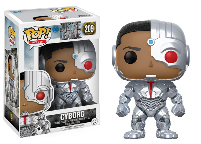 Funko Pop ! Heroes 209 - Justice League - Cyborg