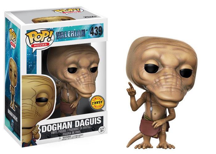 Funko Pop ! Movies 439 - Valerian - Doghan Daguis (Chase Variant 1)