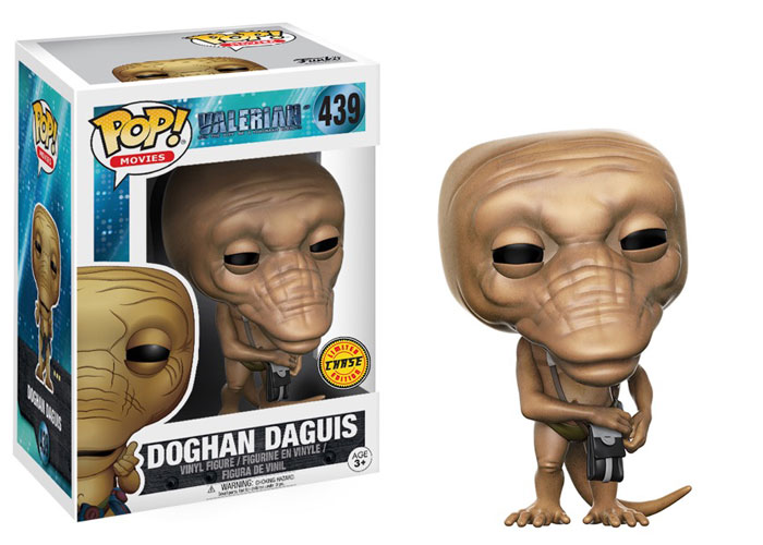 Funko Pop ! Movies 439 - Valerian - Doghan Daguis (Chase Variant 2)