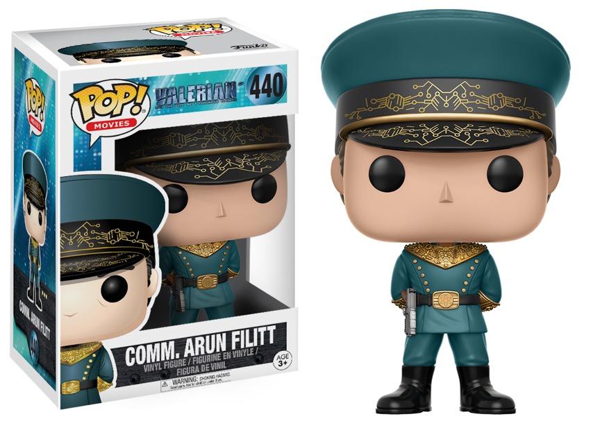 Funko Pop ! Movies 440 - Valerian - Commander Arun Filitt