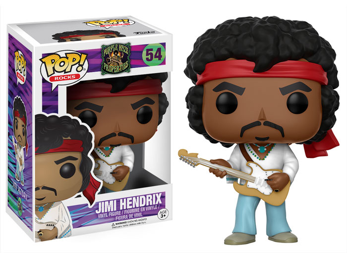 Funko Pop ! Rocks 54 - Jimi Hendrix
