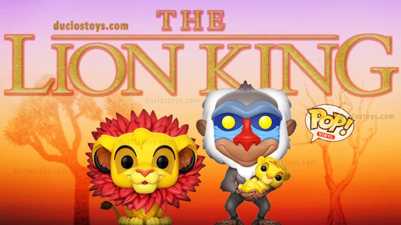 Duclos Toys - Funko Pop Disney The Lion King