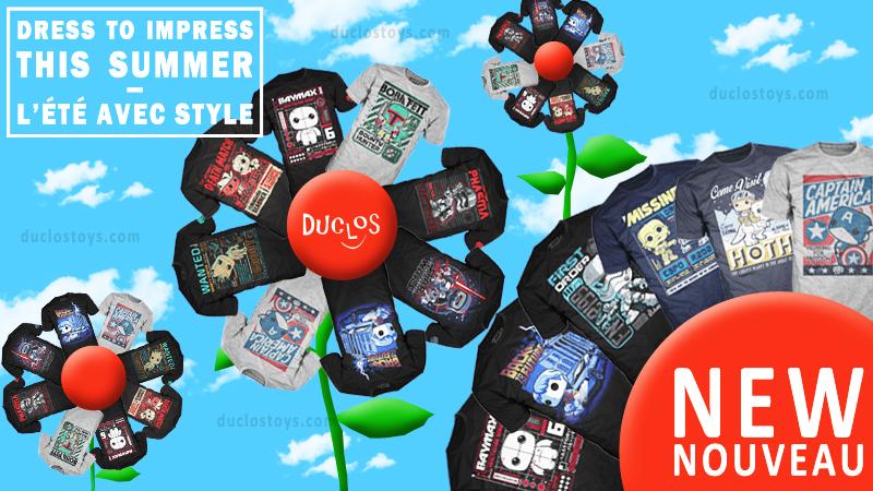 Duclos Toys - Funko Pop Tees