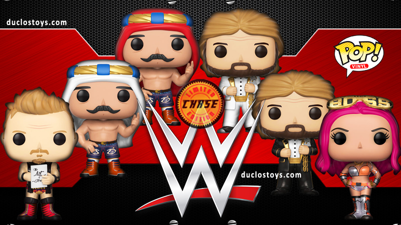Duclos Toys - Funko Pop WWE - Series 6