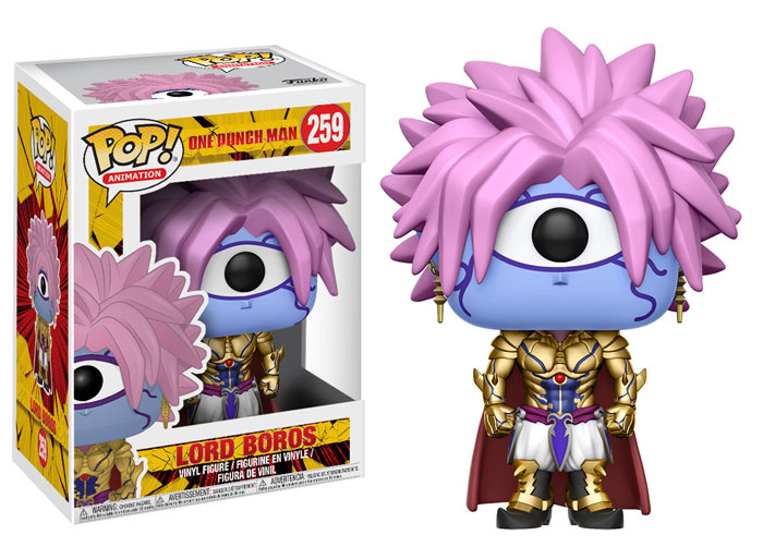 Funko Pop ! Animation 259 - One Punch Man - Lord Boros