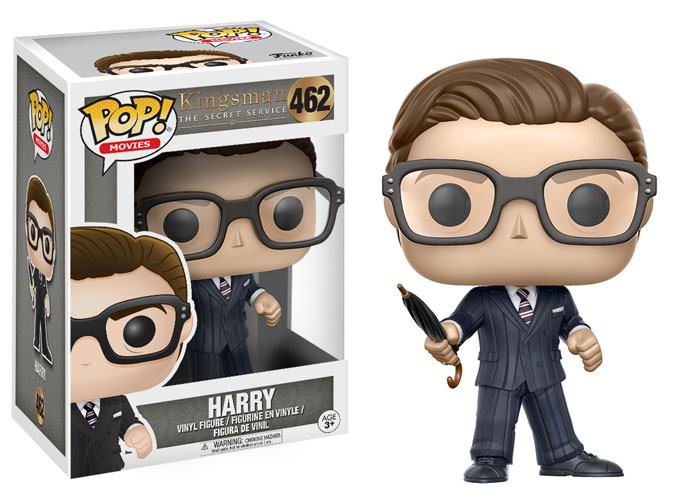 Funko Pop ! Movies 462 - Kingsman - Harry