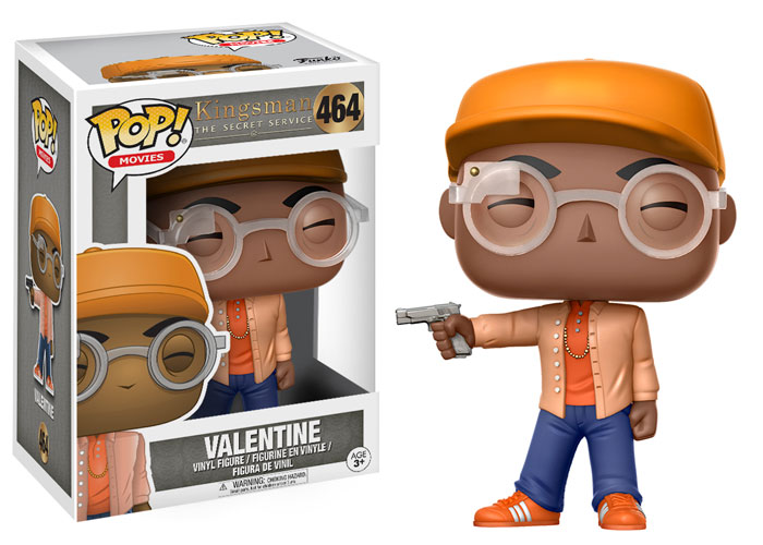 Funko Pop ! Movies 464 - Kingsman - Valentine