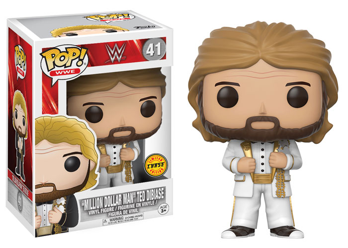 Funko Pop ! WWE 41 - Million Dollar Man Ted DiBiase (Chase)