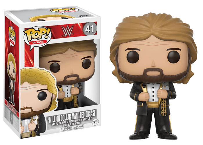 Funko Pop ! WWE 41 - Million Dollar Man Ted DiBiase