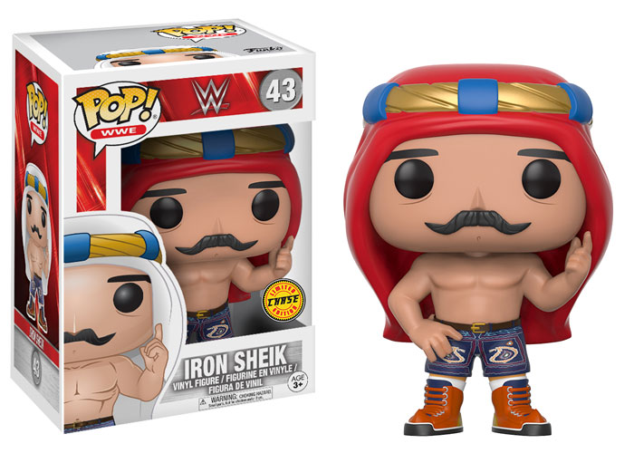 Funko Pop ! WWE 43 - Iron Sheik (Chase)