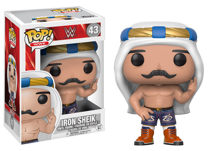 Funko Pop ! WWE 43 - Iron Sheik