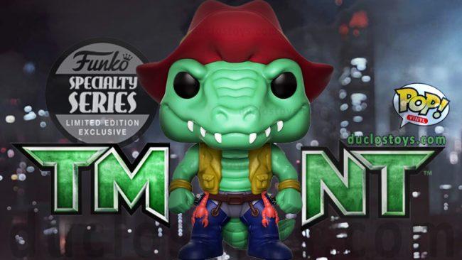 20249c6449c Funko Pop ! Television 543 – Teenage Mutant Ninja Turtles – Leatherhead (Specialty  Series)