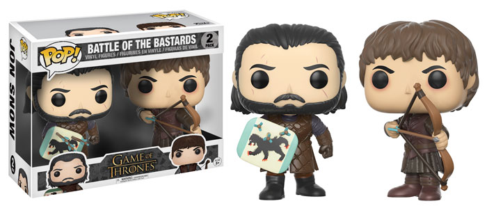 Funko Pop ! Game of Thrones 2-Pack - Battle of the Bastards