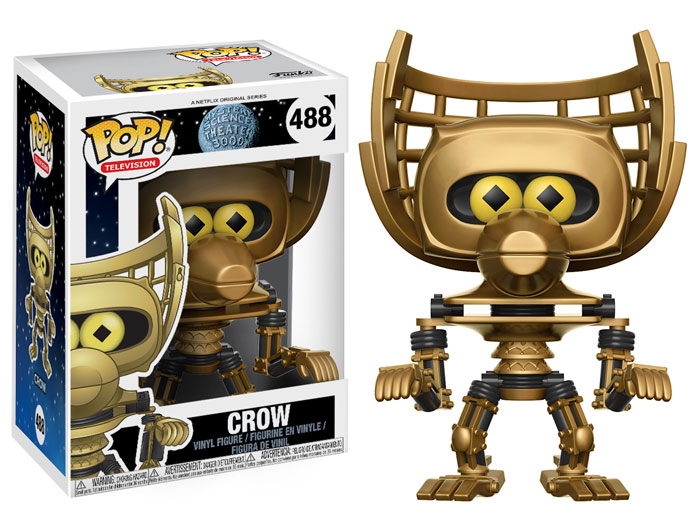 Funko Pop ! Television 488 - Mystery Science Theater 3000 - Crow