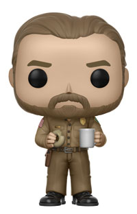 Funko Pop ! Television 512 - Stranger Things - Hopper with Donut (Chase)