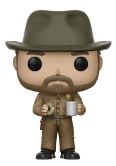 Funko Pop ! Television 512 - Stranger Things - Hopper with Donut