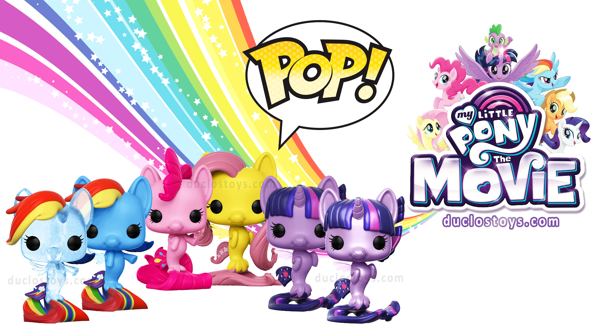 Funko Pop My Little Pony Mlp Movie Duclos Toys Action