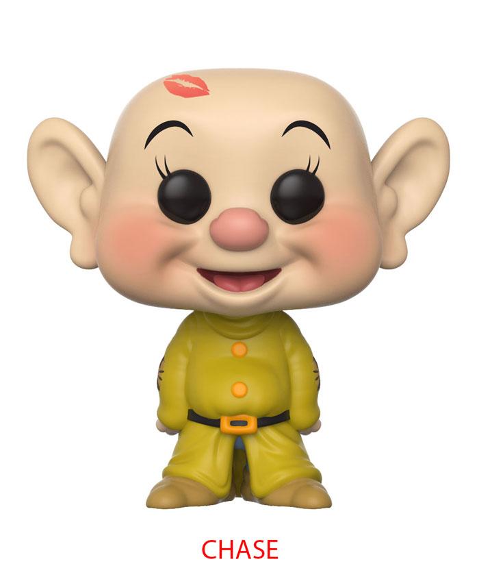 Funko Pop ! Disney 340 - Snow White - Dopey (Chase)