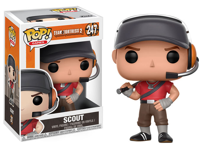 Funko Pop ! Games 247 - Team Fortress 2 - Scout