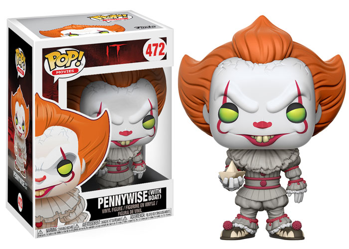 Funko Pop ! Movies 472 - It - Pennywise Clown