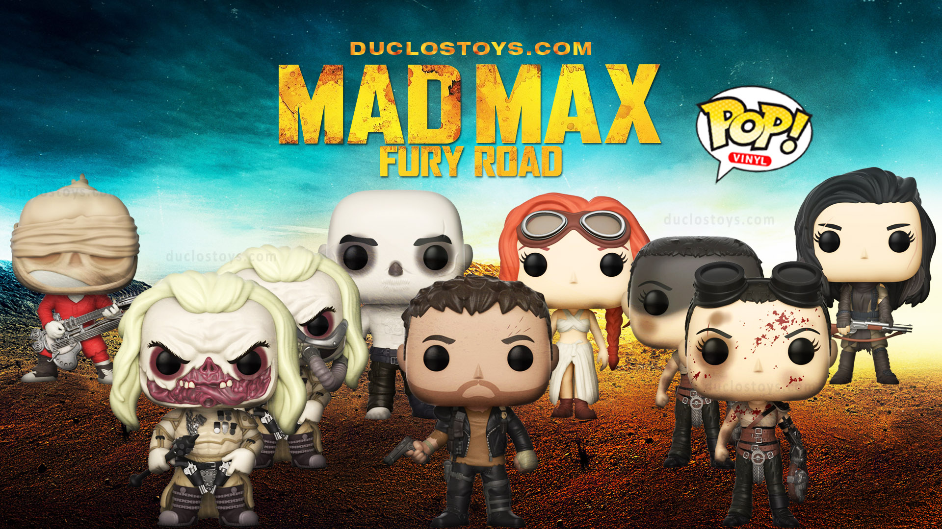 Duclos Toys - Funko Pop! Movies - Mad Max Fury Road