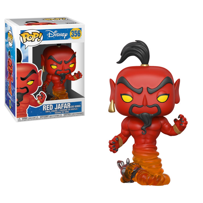 Funko Pop ! Disney 356 - Aladdin - Red Jafar