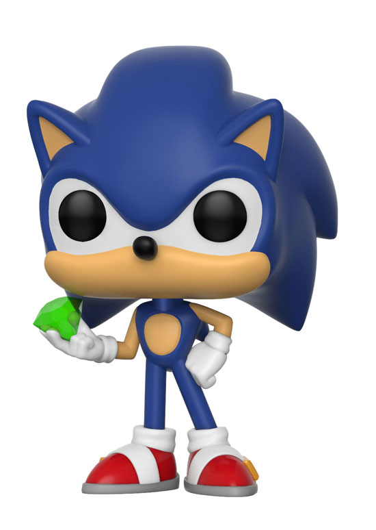 Funko Pop ! Games - Sonic the Hedgehog - Sonic with Emerald