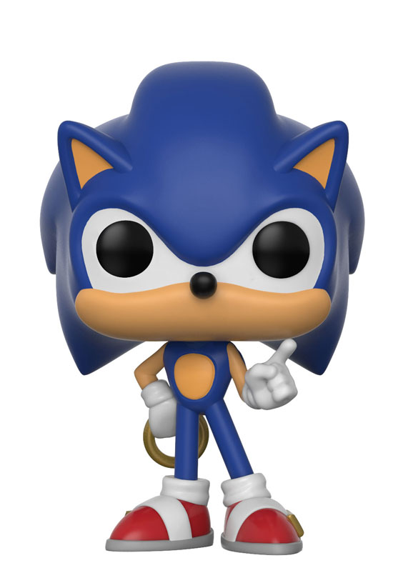 Funko Pop ! Games - Sonic the Hedgehog - Sonic with Ring